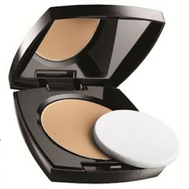 ideal flawless CC colour correcting pressed powder tawny